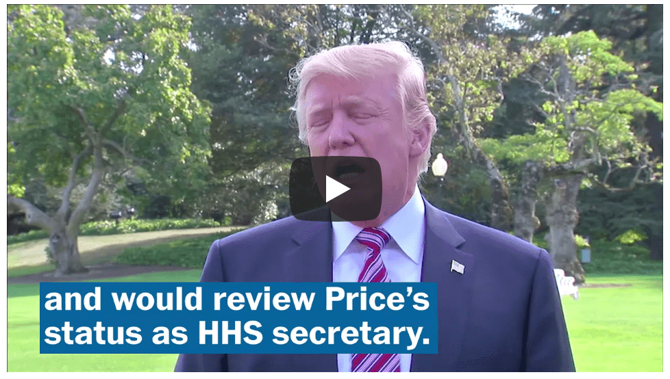HHS Secretary Price is Forced Out – How Insurance Agents Will Be Impacted
