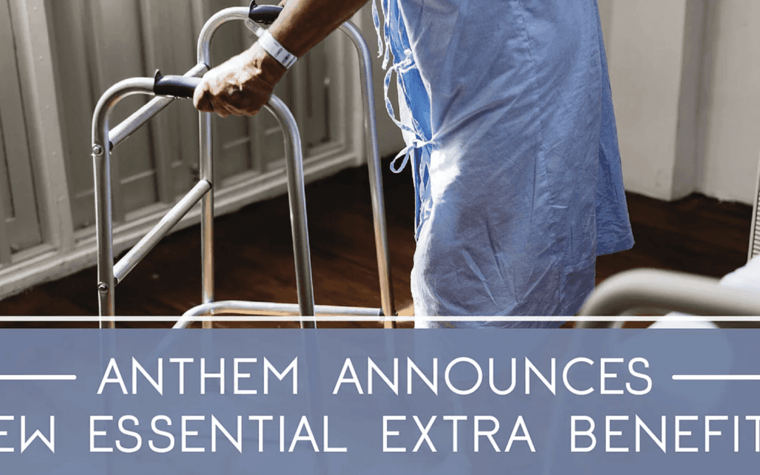 Anthem Announces New Essential Extras Benefits