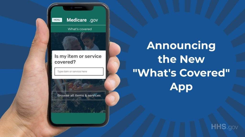 New App Displays What Original Medicare Covers